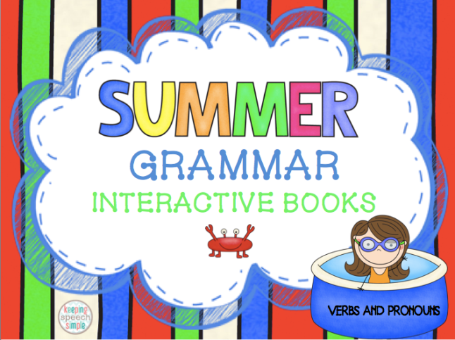summer grammar books