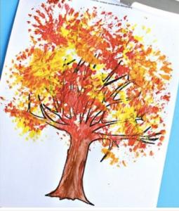 fall treee