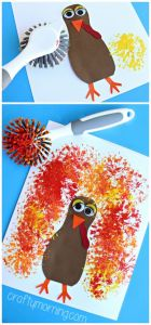 turkey dishbrush paint